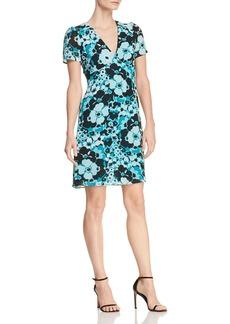 MICHAEL Michael Kors Floral-Print High-Waist Dress