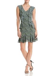 MICHAEL Michael Kors Floral-Print Ruffle Dress