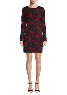 MICHAEL Michael Kors Floral-Print Sheath Dress