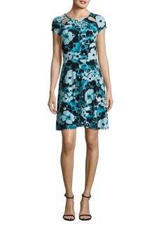 MICHAEL Michael Kors Floral-Print Shift Dress
