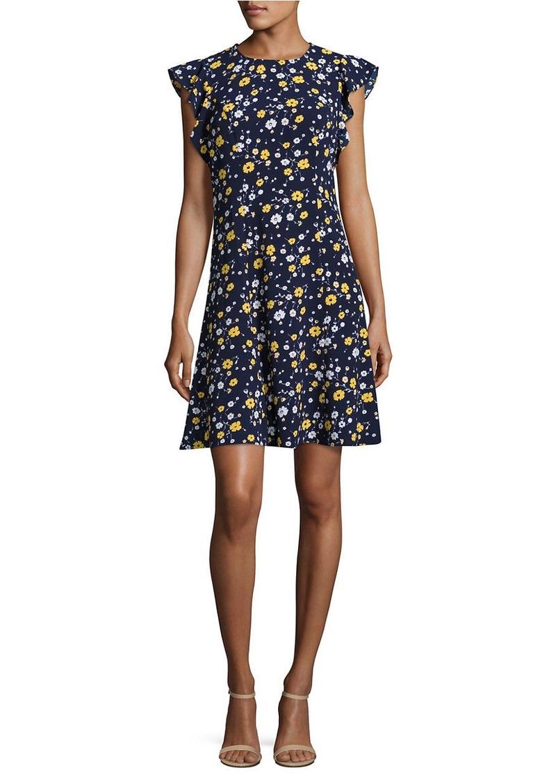 805e2f30765 MICHAEL Michael Kors MICHAEL MICHAEL KORS Floral Print Shift Dress ...
