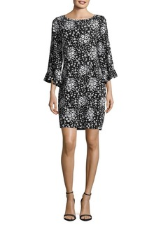 MICHAEL Michael Kors Floral Printed Sheath Dress