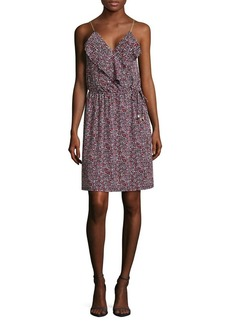 MICHAEL MICHAEL KORS Floral Ruffled Wrap Dress