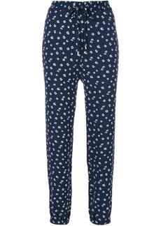 Michael Michael Kors floral track pants - Blue