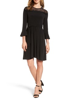 MICHAEL Michael Kors Flounce Sleeve Lace Dress