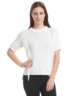 MICHAEL Michael Kors® Fringe Crewneck Sweater