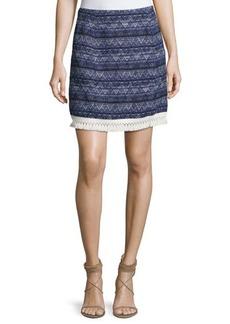 MICHAEL Michael Kors Fringe-Trim Mini Skirt