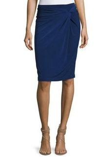 MICHAEL Michael Kors Front-Twist Pencil Skirt