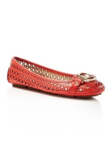 MICHAEL Michael Kors Fulton Perforated Flats