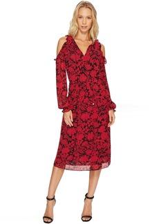 MICHAEL Michael Kors Garden Cold Shoulder Dress