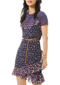 MICHAEL Michael Kors Garden Patch Slip Dress