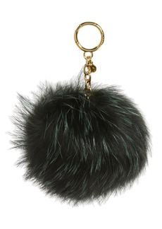 MICHAEL Michael Kors Genuine Fox Fur Bag Charm
