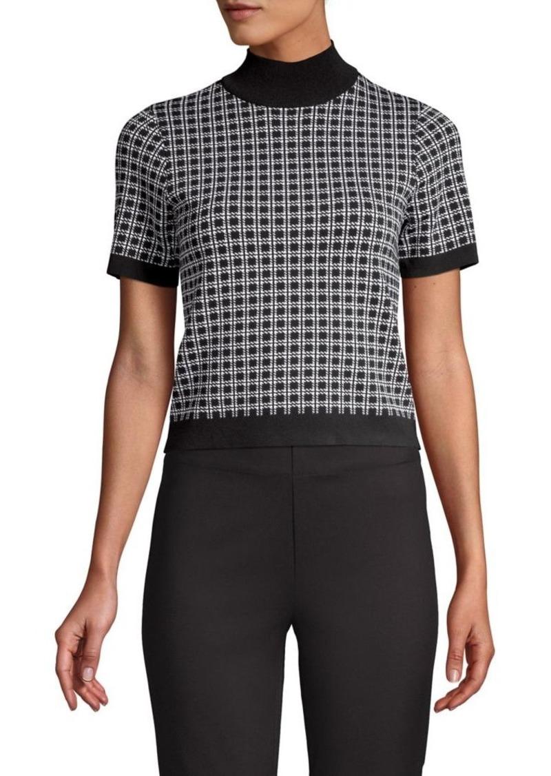 MICHAEL Michael Kors Geometric Print Sweater