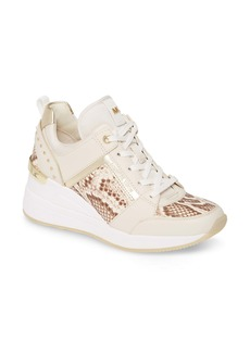 MICHAEL Michael Kors Georgie Wedge Sneaker (Women)