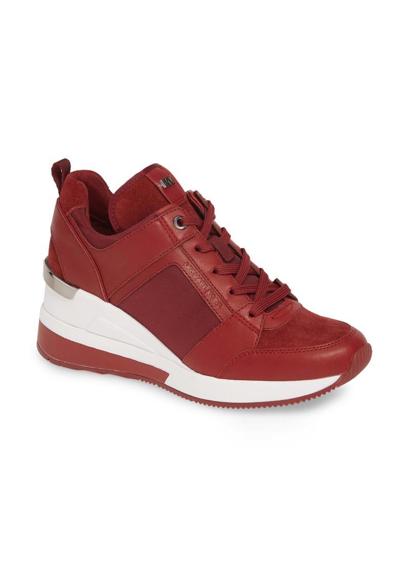 MICHAEL Michael Kors Georgie Wedge Sneaker (Women)