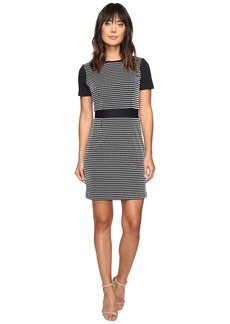MICHAEL Michael Kors Gingham Texture Dress