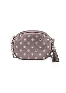 MICHAEL Michael Kors Ginny Medium Studded Messenger Bag