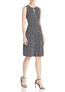 MICHAEL Michael Kors Giraffe Border Print Dress