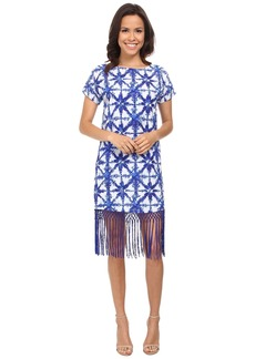 MICHAEL Michael Kors Glazed Fringe Dress