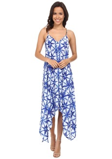 MICHAEL Michael Kors Glazed Tile Hi Lo Dress