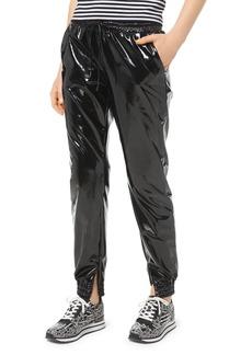 MICHAEL Michael Kors Glossy Jogger Pants