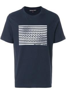 Michael Michael Kors graphic-print T-shirt - Blue