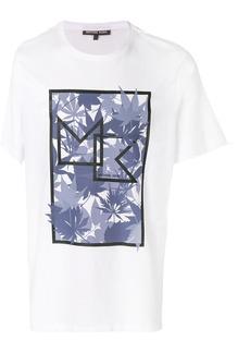 Michael Michael Kors graphic printed T-shirt - White