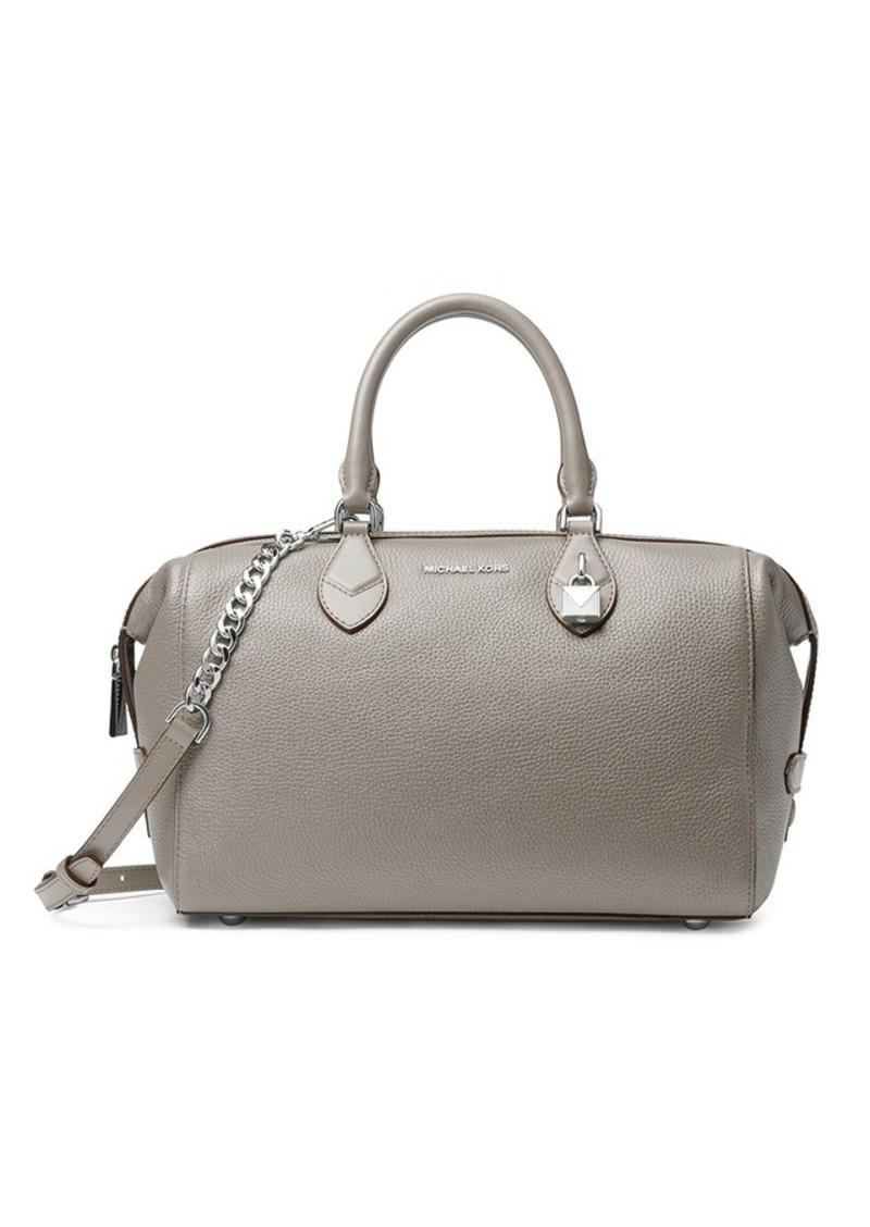 ae9cb51482bb coupon michael michael kors large grayson satchel b0a30 7d301  ebay grayson  leather satchel. michael michael kors 8e074 9512e