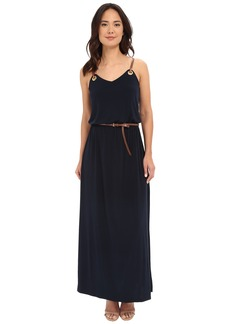 MICHAEL Michael Kors Grom Leather Stripe Maxi