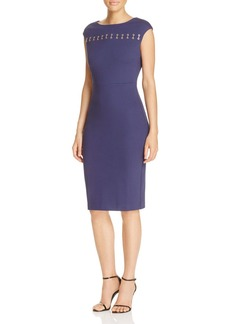 MICHAEL Michael Kors Grommet Bar Sheath Dress