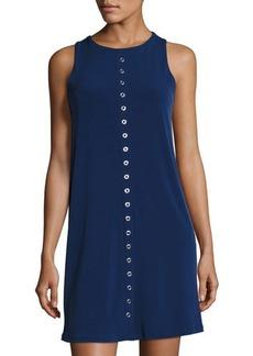 MICHAEL Michael Kors Grommet-Embellished Shift Dress