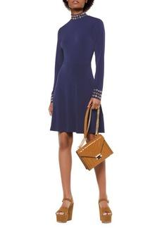 MICHAEL Michael Kors Grommet Mockneck A-Line Dress