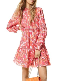 MICHAEL Michael Kors Groovy Swirl Mini Dress