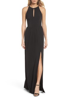 MICHAEL Michael Kors Halter Maxi Dress