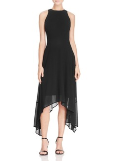 MICHAEL Michael Kors Handkerchief Hem Dress