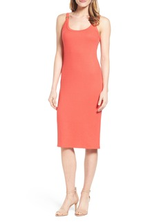 MICHAEL Michael Kors Hardware Detail Tank Dress (Regular & Petite)