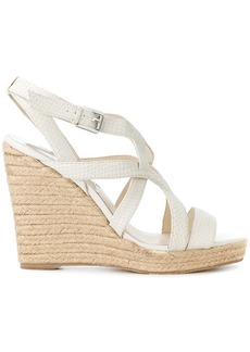 Michael Michael Kors Hastings strappy wedge sandals - Nude & Neutrals