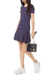 MICHAEL Michael Kors Heart Studded Mini Shift Dress