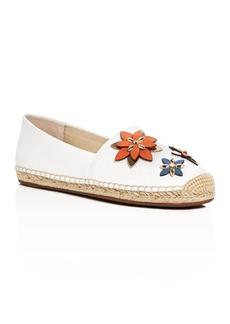 MICHAEL Michael Kors Heidi Flower Appliqu� Espadrille Flats