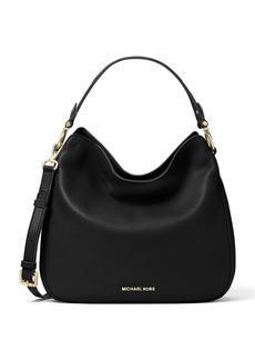 MICHAEL MICHAEL KORS Heidi Medium Soft Venus Convertible Leather Hobo Bag