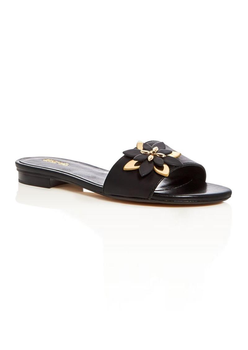 50b7aacf8483 MICHAEL Michael Kors MICHAEL Michael Kors Heidi Slide Sandals