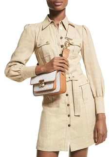 MICHAEL Michael Kors Hemp Utility Mini Dress