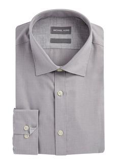 Michael Kors Regular Fit Airsoft Cotton Dress Shirt