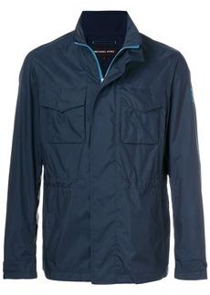 Michael Michael Kors high-collar field jacket - Blue
