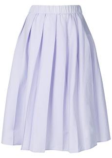 Michael Michael Kors high waisted pleated skirt - Pink & Purple