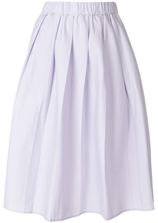 Michael Michael Kors high waisted pleated skirt - Pink & Purple