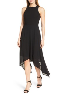 MICHAEL Michael Kors High/Low Georgette Dress