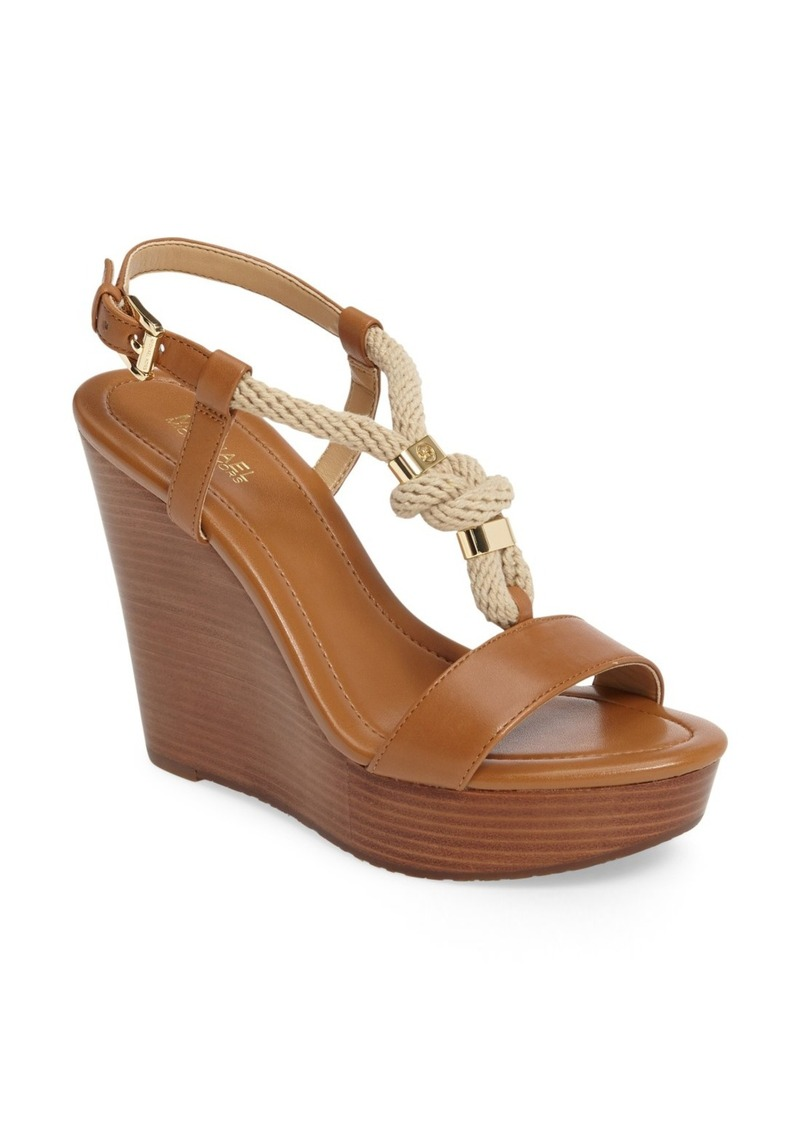 MICHAEL Michael Kors 'Holly' Espadrille Wedge Sandal (Women)