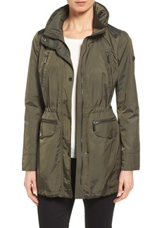 MICHAEL Michael Kors Hooded Anorak (Regular & Petite)