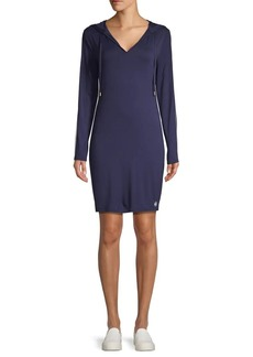 MICHAEL Michael Kors Hooded Knit Dress